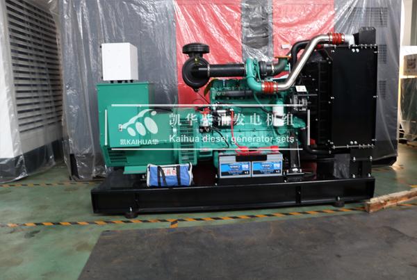 一台150KW康明斯发电机组今日成功出厂