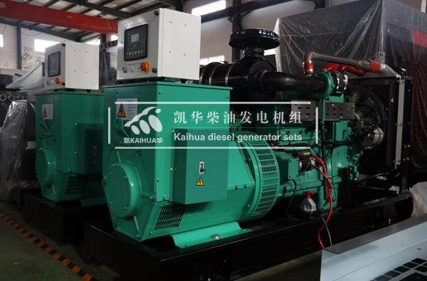 两台100KW华坤柴油发电机组今日成功出厂