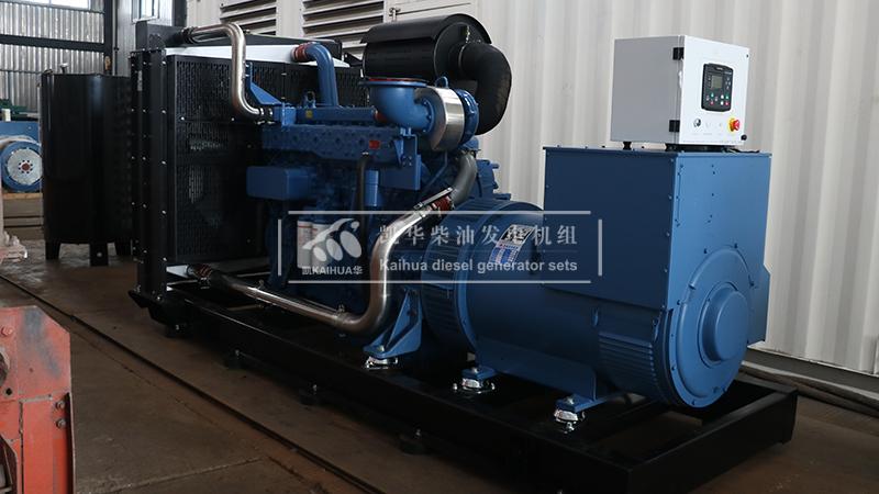 宝鸡一台500kw玉柴发电机组今日成功出厂